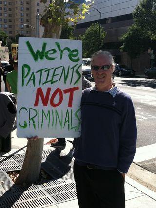 David, Brian protest photo 10-7-11