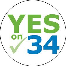 Prop 34 yes